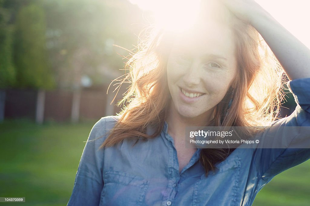 Collecting light : Stock Photo