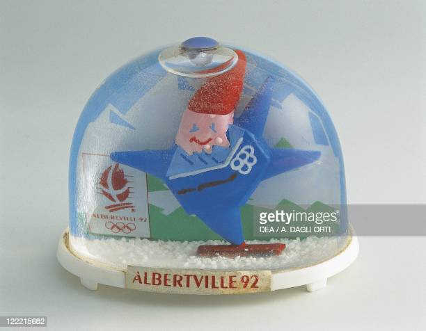 Collecting Snowglobes Albertville 1992 Olympic Games Plastic