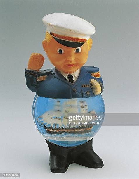 Collecting Snowglobes Captain and his Vessel Plastic