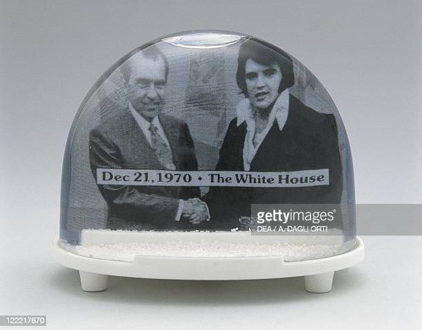 Collecting Snowglobes Elvis Presley and Richard Nixon to the White House on December 1970