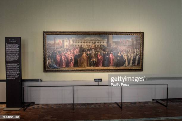 Collection during the 'Giorgione And The Seasons of the Heart' exhibition in Rome The Exhibition which is based on two locations is built around the...
