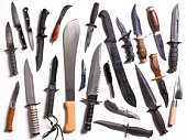 Collection from Knife Amnesty