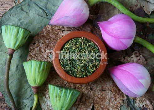 Collection Lotus Flower Seed Tea Healthy Food Stock Photo Thinkstock