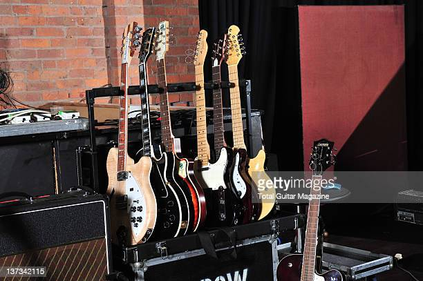 Blueprint magazine stock photos and pictures getty images a collection of electric guitars at blueprint studios home of british band elbow manchester november 16 malvernweather Choice Image
