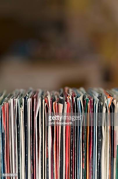 Collection of old 45s