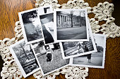 Collection of Old black and white Photographs