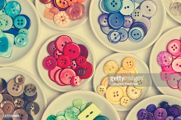 Collection of pretty buttons