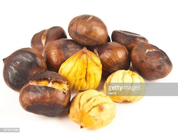 Collection of Roasted chestnuts