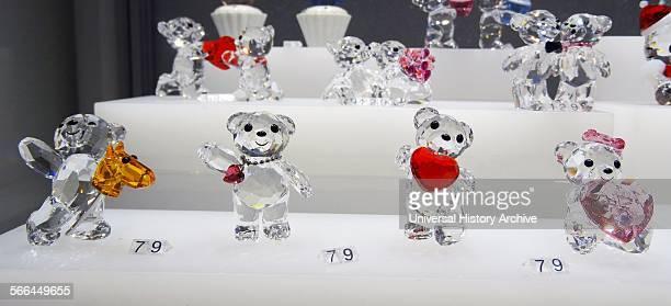 Collection of Swarovski Crystal Kris Bear Swarovski is an Austrian producer of luxury cut lead glass Founded by Daniel Swarovski Dated 2014