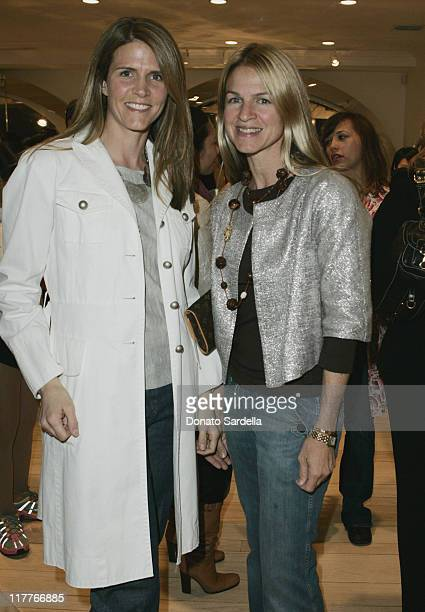 Colleen Bell and Crystal Lourd during MARNI's Los Angeles Boutique Opening and MARNI Designer Consuelo Castiglione's First Trip to Los Angeles at...