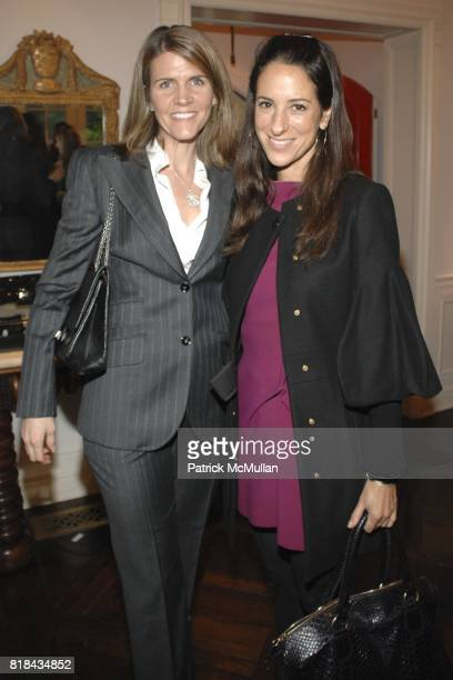 Colleen Bell and Jane Ross attend Dolce Gabbana Luncheon and Fashion Presentation hosted by Jamie Tisch Quinn Ezralow Marion Laurie and Kelly Meyer...