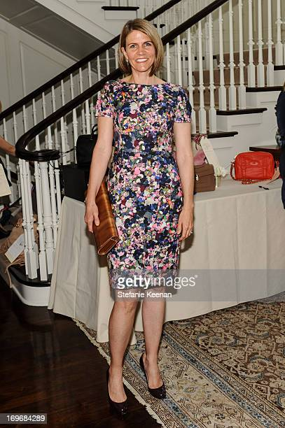 Colleen Bell attends PS ARTS Bag Lunch at Private Residence on May 30 2013 in Los Angeles California