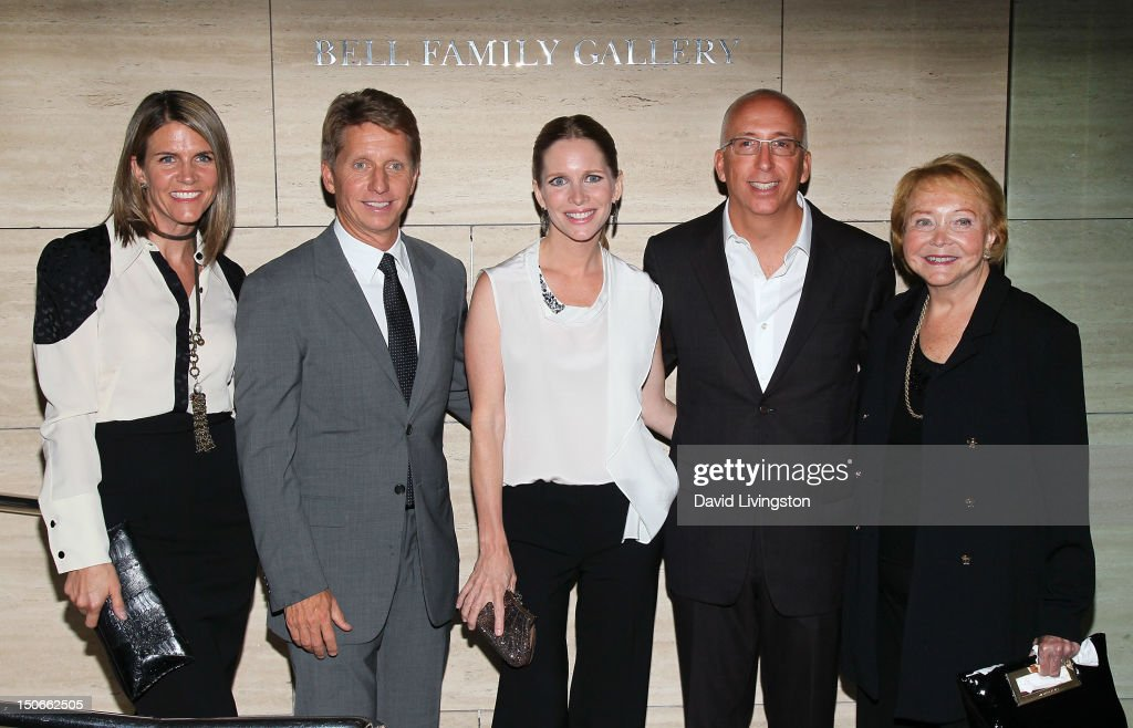 Colleen Bell, husband/writer Bradley Bell, actress Lauralee Bell, William J. Bell Jr. and The Young and the Restless co-creator Lee Phillip Bell attend The Paley Center for Media presentation of 'The Young and the Restless: Celebrating 10,000 Episodes' at The Paley Center for Media on August 23, 2012 in Beverly Hills, California.