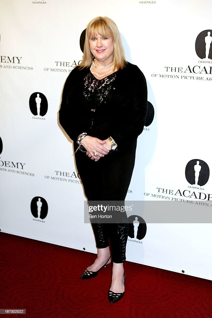 Colleen Camp attends the Academy Of Motion Picture Arts And Sciences Hosts A 'Wayne's World' Reunion at AMPAS Samuel Goldwyn Theater on April 23, 2013 in Beverly Hills, California.