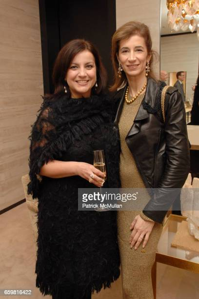 Colleen Perlis and Erica Kasel attend Chanel Fine Jewelry Beverly Hills Dinner at Chanel Boutique on November 11 2009