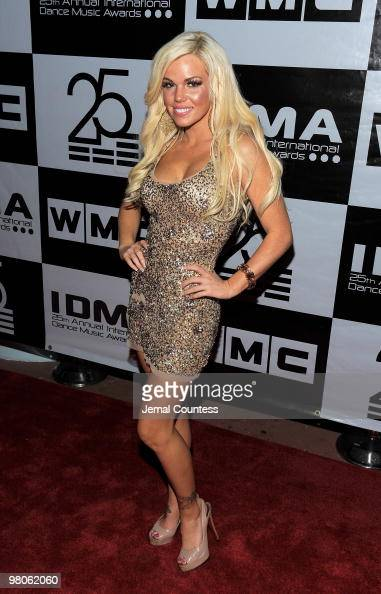 Colleen Shannon arrives at The International Dance Music Awards at The Fillmore Theater during the 2010 Winter Music Conference on March 25 2010 in...