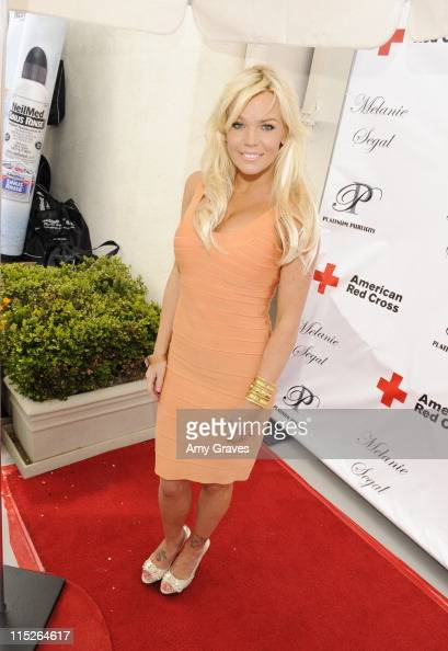 Colleen Shannon attends Melanie Segal's Red Cross Prepare LA Trend Lounge In Celebration Of The MTV Movie Awards Day 2 at Luxe Hotel on June 4 2011...
