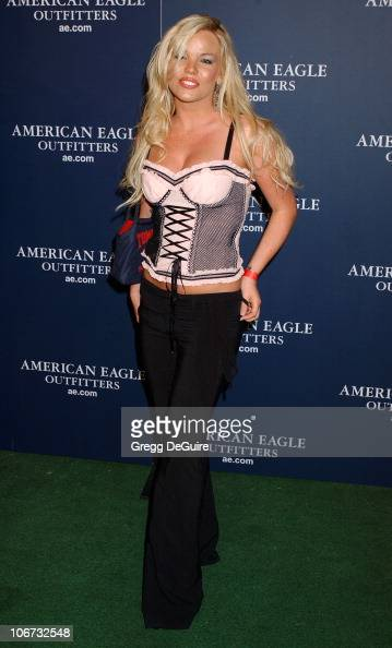 Colleen Shannon during American Eagle Outfitters Rocks Los Angeles with a Back To School Tailgate Party Arrivals at Hollywood Lot in Hollywood...