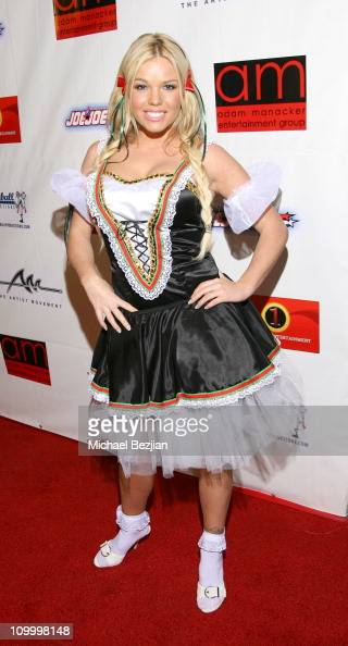 Colleen Shannon during Dave Navarro's Halloween Lingerie and Costume Ball at The Highlands in Hollywood Califonia United States