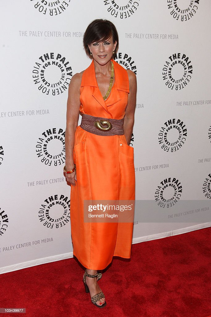 Colleen Zenk attends a farewell to cast of 'As The World Turns' at The Paley Center for Media on August 18, 2010 in New York City.