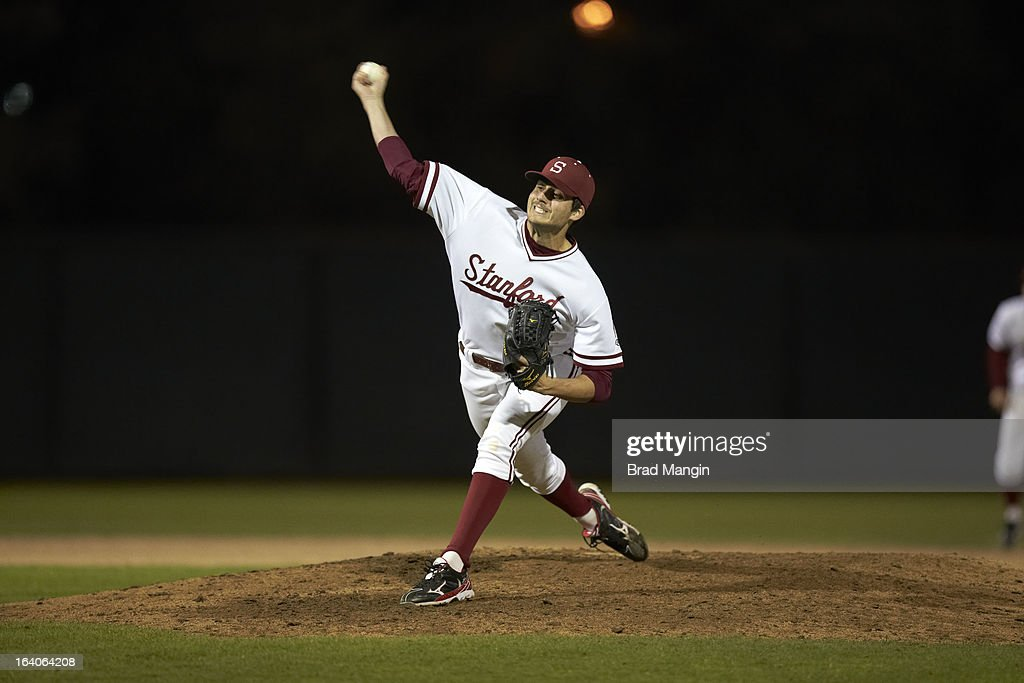 Stanford Mark Appel (26) in action, pitching vs UNLV at Klein Field at Sunken Diamond. Appel is a top pitching prospect. Brad Mangin F606 )