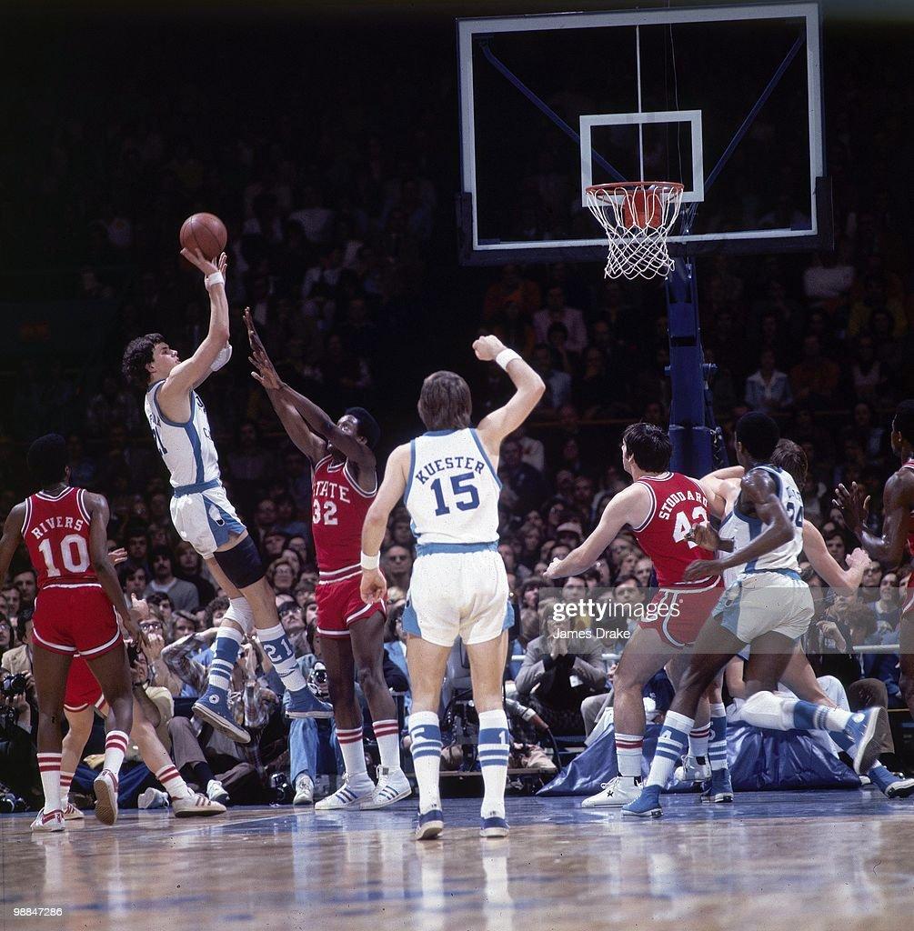 University of North Carolina Mitch Kupchak 1975 ACC Championship