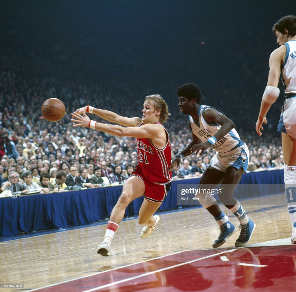 University of Virginia vs University of North Carolina 1976 ACC
