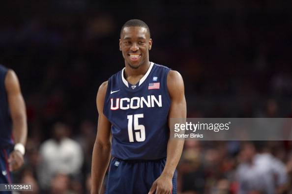 Big East Tournament UConn Kemba Walker in action vs Georgetown at Madison Square GardenNew York NY 3/9/2011CREDIT Porter Binks