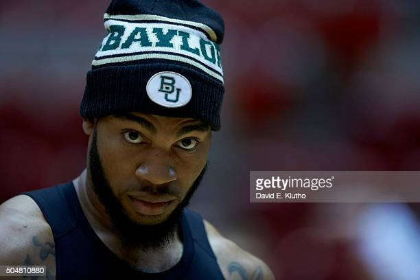 Closeup of Baylor Rico Gathers warming up before game vs Iowa State at James H Hilton Coliseum Ames IA CREDIT David E Klutho