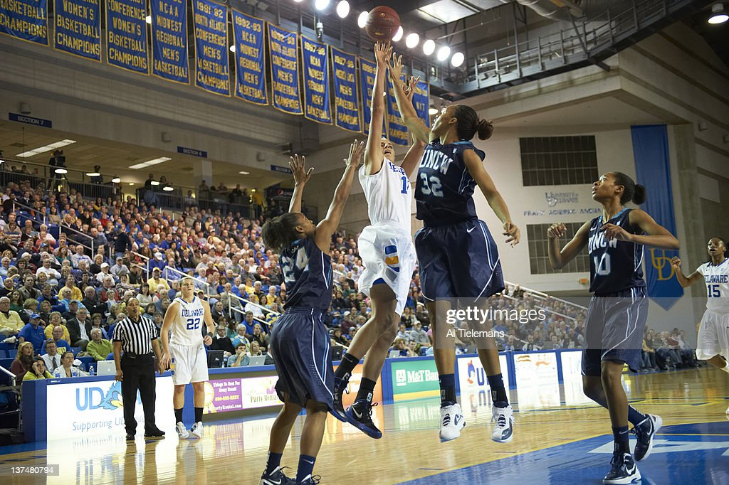 Delaware Elena Delle Donne in action vs UNC Wilmington at Bob Carpenter Center Newark DE CREDIT Al Tielemans