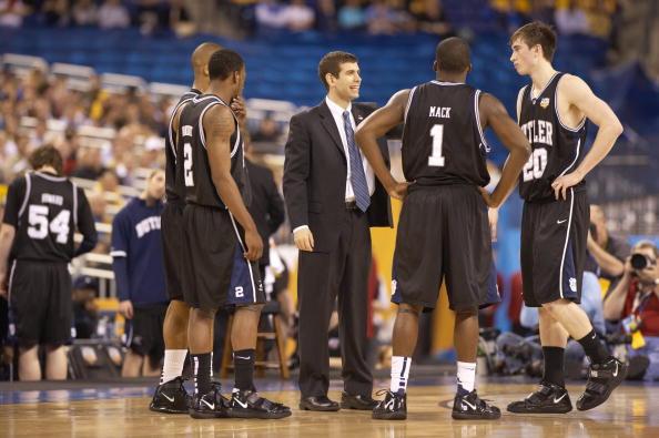 Michigan State University vs Butler University, 2010 NCAA National Semifinals : News Photo