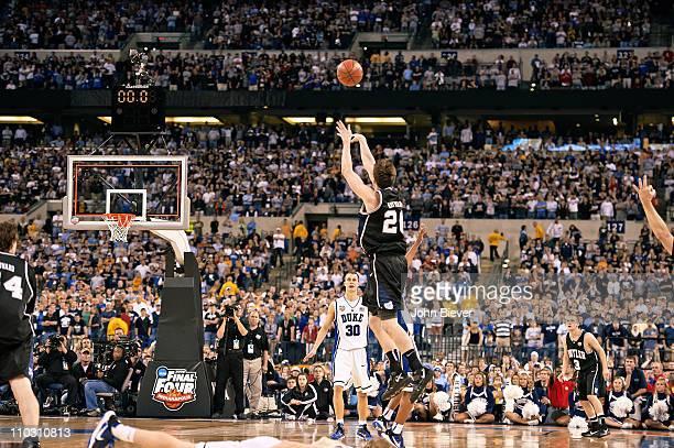 NCAA Final Four Butler Gordon Hayward in action missing shot to end game vs Duke at Lucas Oil StadiumIndianapolis IN 4/5/2010CREDIT John Biever