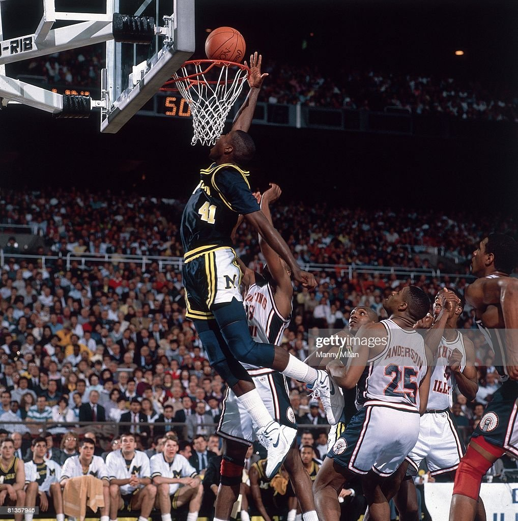 Michigan Glen Rice 1989 NCAA Semifinals