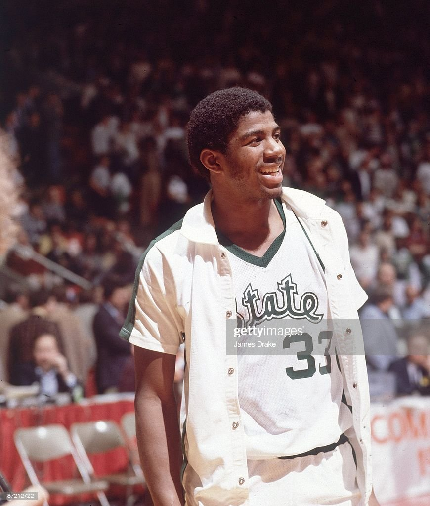 Michigan State University Magic Johnson 1979 NCAA National