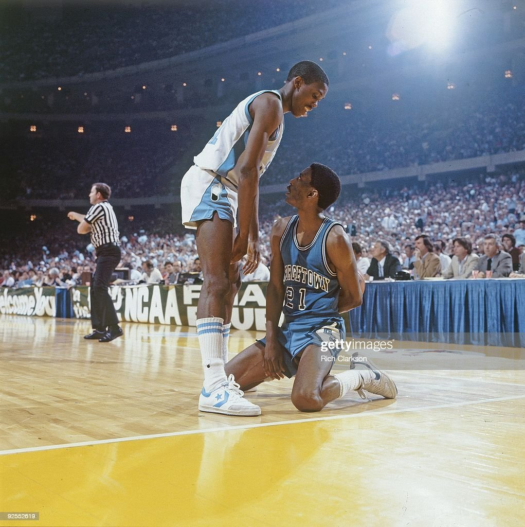 University of North Carolina Jimmy Black 1982 NCAA National