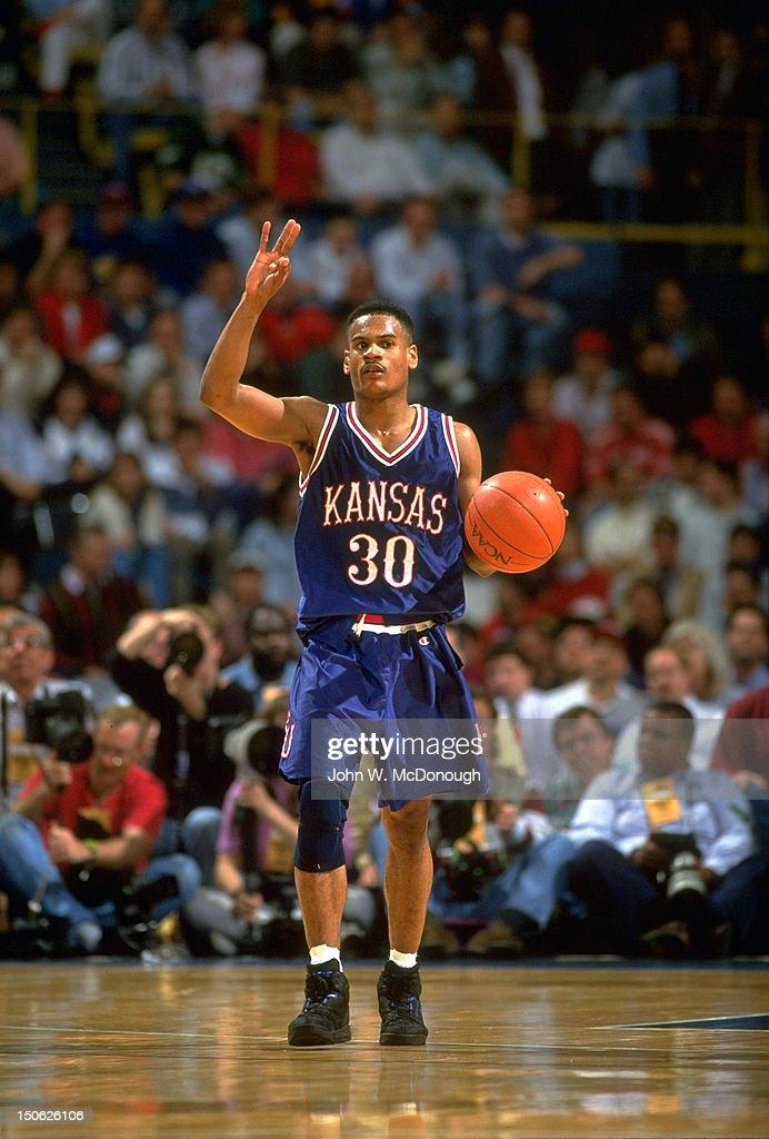 Indiana University vs University of Kansas, 1993 NCAA Midwest ...