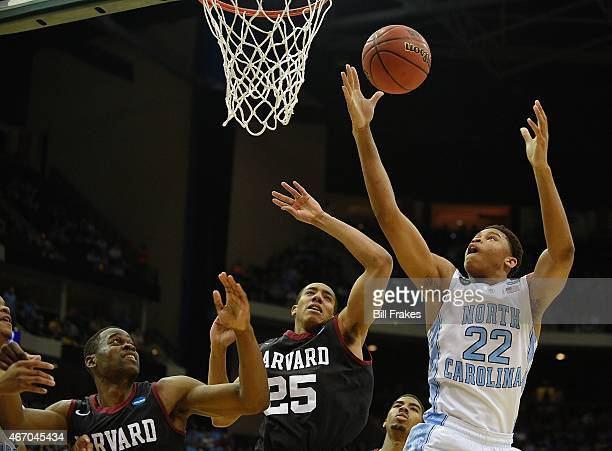 NCAA Playoffs North Carolina Isaiah Hicks in action vs Harvard at Jacksonville Memorial Veterans Arena Jacksonville FL CREDIT Bill Frakes