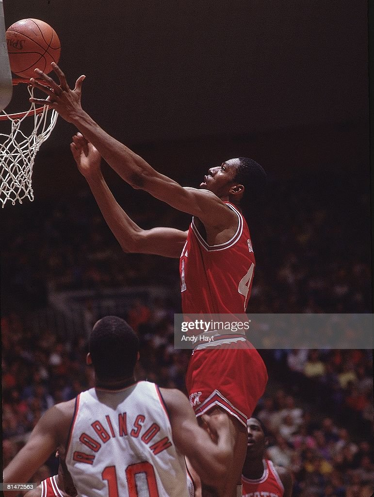 NC State Thurl Bailey 1983 NCAA West Regional Playoffs
