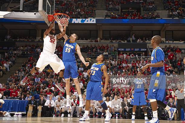 NCAA Playoffs Ohio State Dallas Lauderdale in action vs UC Santa Barbara Greg Somogyi Milwaukee WI 3/19/2010 CREDIT John Biever