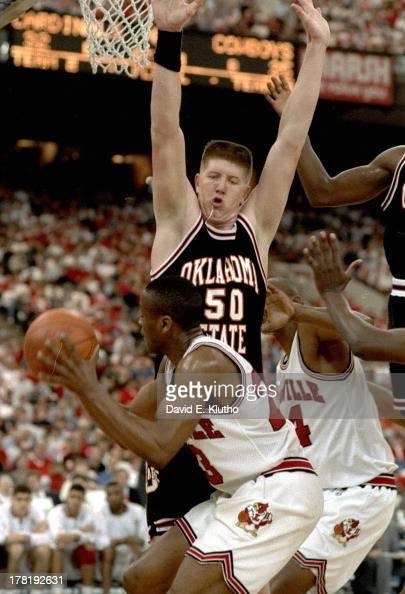 University of Louisville vs Oklahoma State University, 1993 NCAA Midwest Regional Playoffs ...