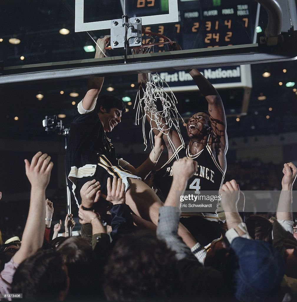 Providence Marvin Barnes and Ernie DiGregorio 1973 NCAA Playoffs
