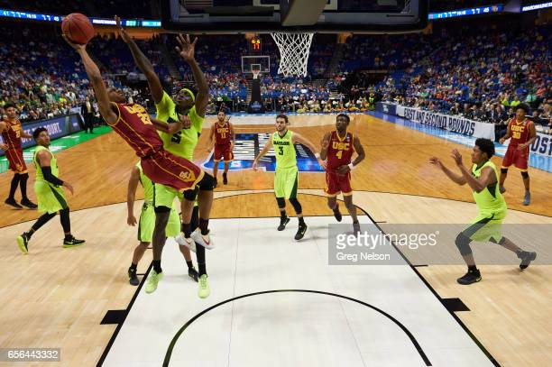 NCAA Playoffs USC De'Anthony Melton in action vs Baylor at BOK Center Tulsa OK CREDIT Greg Nelson