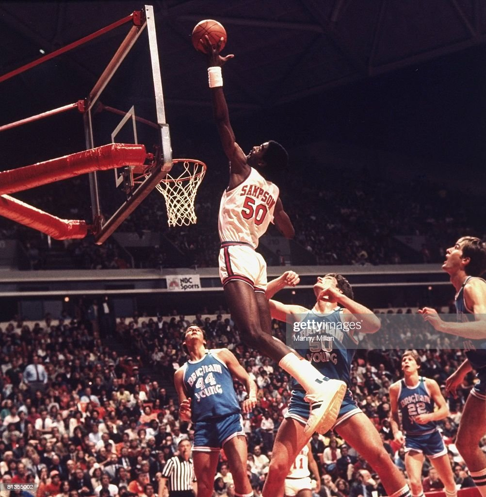 University of Virginia Ralph Sampson 1981 NCAA East Regional