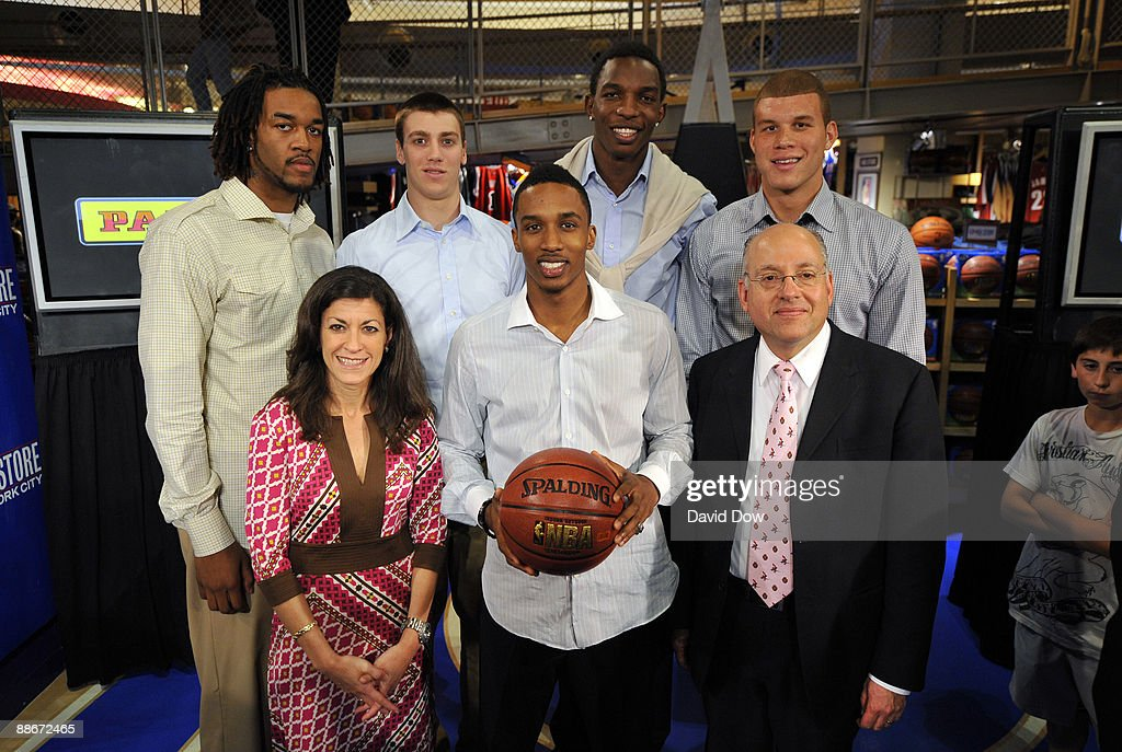 College basketball player Jordan Hill of the Arizona Wildcats basketball player Tyler Hansbrough college basketball player Hasheem Thabeet of the...