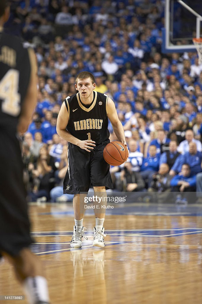 Vanderbilt Brad Tinsley (1) in action vs Kentucky at Rupp Arena. David E. Klutho F540 )