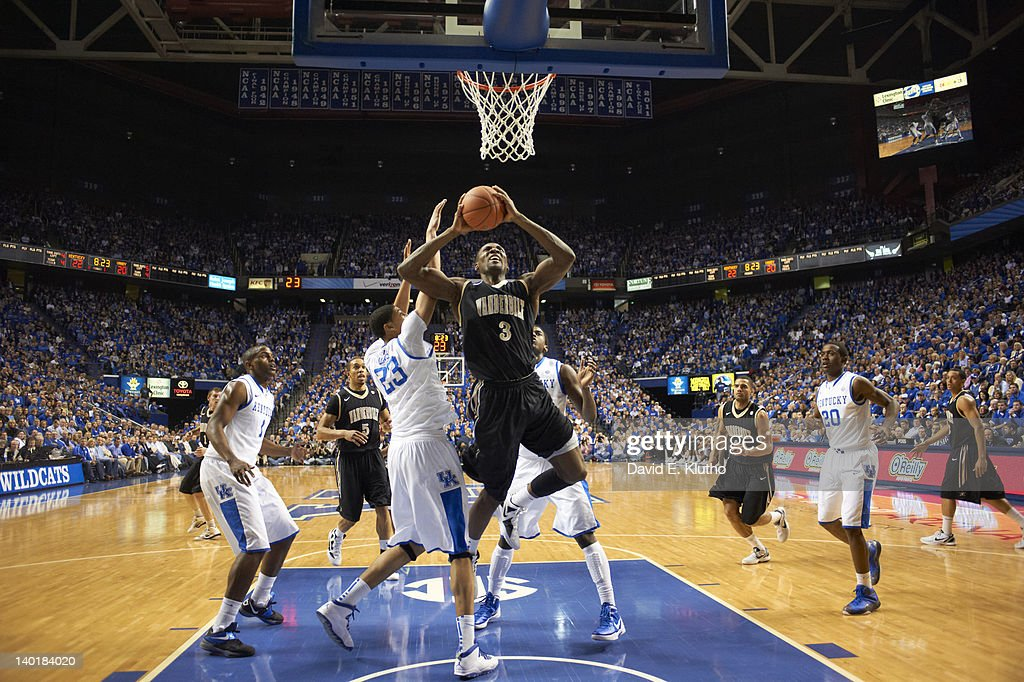 Vanderbilt Festus Ezeli (3) in action vs Kentucky at Rupp Arena. David E. Klutho F144 )