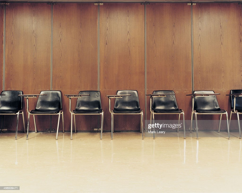 College Chairs : Stock Photo