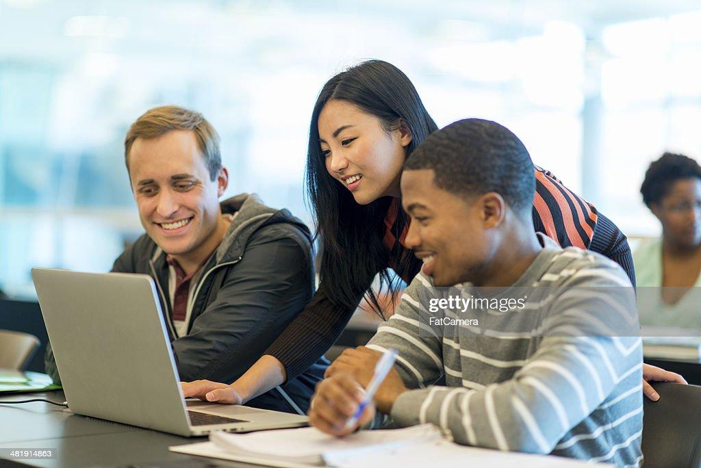 College Classroom : Stock Photo
