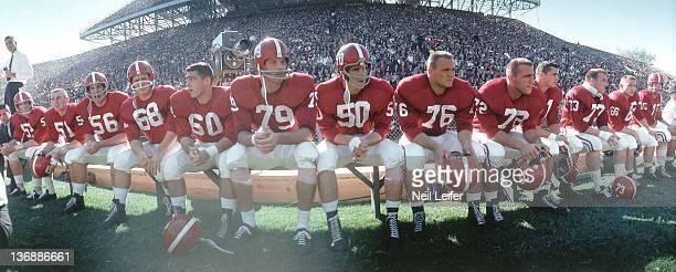 College Football Alabama players Gaylon McCollough Elbert Cook Gerald Stephens Ron Durby Ken 'Tank' Mitchell Clark Boler Jim Simmons Dan Kearley...