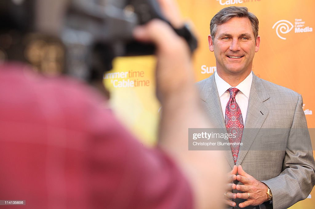 College football analyst Craig James attends the Time Warner Cable Media Upfront Event 'Summertime Is Cable Time' on May 12, 2011 in Dallas, Texas.